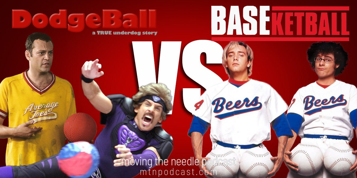 Read more about the article Episode 33 – Dodgeball vs. Baseketball