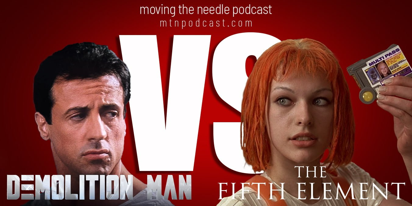 Read more about the article Episode 55 – Demolition Man Vs The Fifth Element